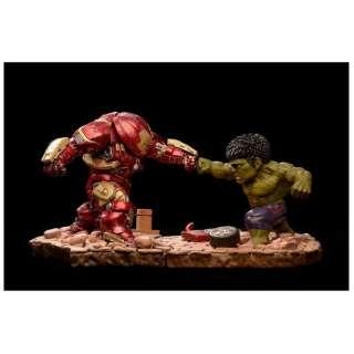 塗装済み完成品 Egg Attack Avengers: Age of Ultron ハルクバスター vs ハルク