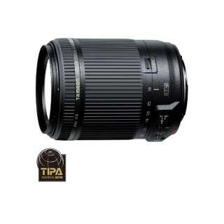 カメラレンズ 18-200mm F/3.5-6.3 Di II VC APS-C用 ブラック B018 [キヤノンEF /ズームレンズ]