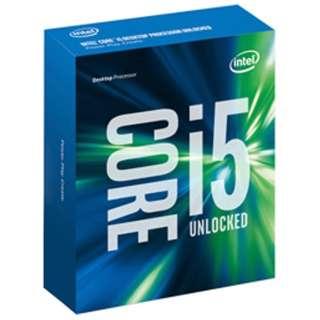 Core i5 - 6600K BOX品 ※CPUクーラー別売り [CPU]