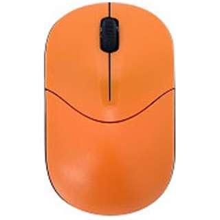 ワイヤレス光学式マウス[2.4GHz USB・Mac/Win] RETORO POP (3ボタン・オレンジ) BCM335GO2