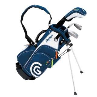 ジュニア用 ゴルフクラブ セット SMALL SET(3本セット/キャディバッグ付/3歳~6歳向け)