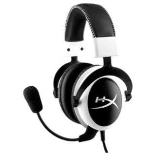 KHX-H3CLW ヘッドセット ホワイト [φ3.5mmミニプラグ /両耳 /ヘッドバンドタイプ]