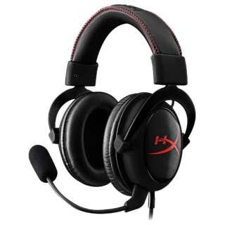 KHX-HSCC-BK-FR ヘッドセット ブラック [φ3.5mmミニプラグ /両耳 /ヘッドバンドタイプ]