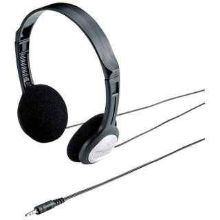MM-HP206N ヘッドセット [φ3.5mmミニプラグ /両耳 /ヘッドバンドタイプ]