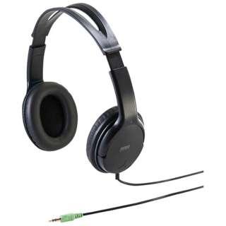 MM-HP210 ヘッドセット [φ3.5mmミニプラグ /両耳 /ヘッドバンドタイプ]