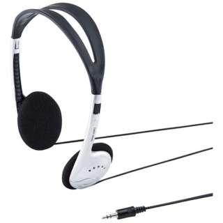 MM-HP208N ヘッドセット [φ3.5mmミニプラグ /両耳 /ヘッドバンドタイプ]