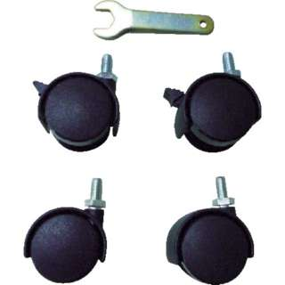 ELS型補助テーブル用キャスター 4個入Φ40双輪