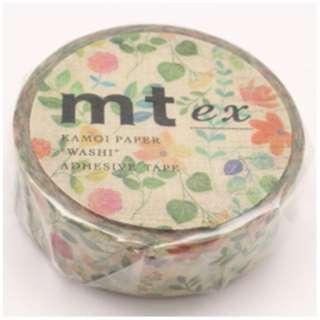 mt ex マスキングテープ(水彩花柄) MTEX1P109