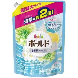 Bold(ボールド)ジェル  フレッシュピュアクリーンの香り つめかえ用超特大サイズ 1260ml〔衣類洗剤〕