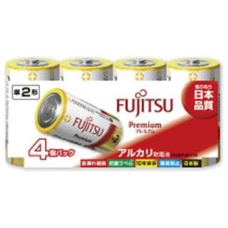 LR14FP-4S 単2電池 Premium(プレミアム) [4本 /アルカリ]