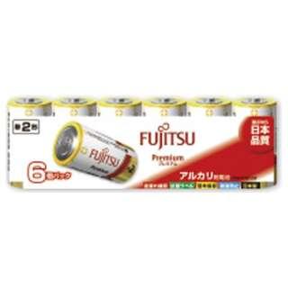 LR14FP-6S 単2電池 Premium(プレミアム) [6本 /アルカリ]
