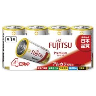 LR20FP-4S 単1電池 Premium(プレミアム) [4本 /アルカリ]