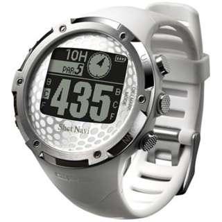 腕時計型GPSゴルフナビ ShotNavi W1-FW(ホワイト)