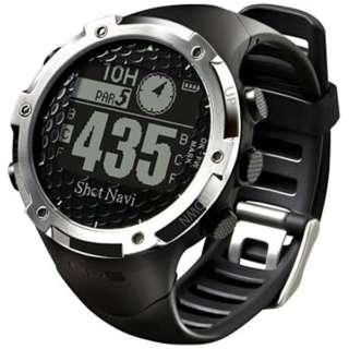 腕時計型GPSゴルフナビ ShotNavi W1-FW(ブラック)