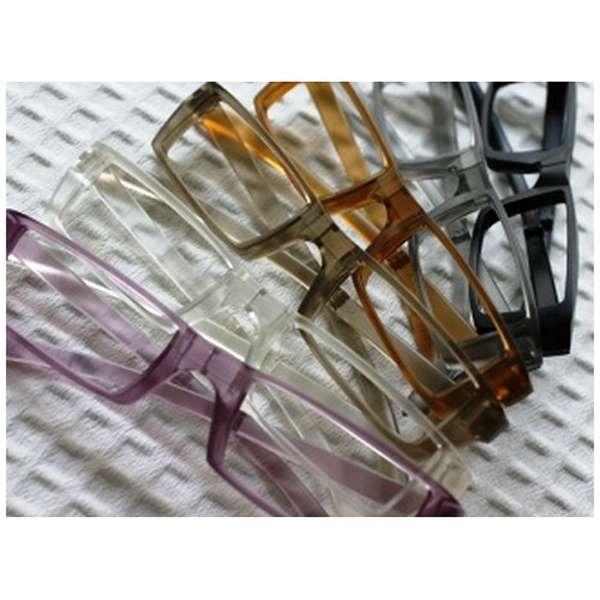 折りたたみ老眼鏡 KL-101(ブラック/+2.50)【日本製】