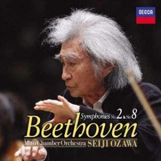 小澤征爾(cond)/ベートーヴェン:交響曲第2番&第8番 【CD】
