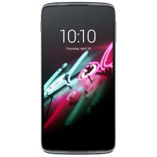 ALCATEL ONETOUCH IDOL3ダークグレー「6045F-2AALJP7」 Snapdragon 615 5.5型・メモリ/ストレージ:2GB/16GB microSIMx1 ドコモ/ソフトバンク SIM対応 SIMフリースマートフォン