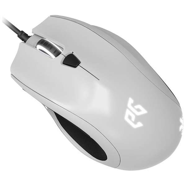 EGMCYX-BWOW-AMSG ゲーミングマウス CYCLOPS X ホワイト  [IR LED /7ボタン /USB /有線]