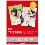 キヤノン写真用紙・光沢スタンダード[薄手](L版・100枚) SD-201L100