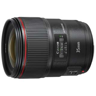 カメラレンズ EF35mm F1.4L II USM ブラック [キヤノンEF /単焦点レンズ]