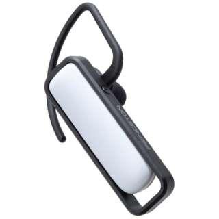 スマートフォン対応[Bluetooth4.0] 片耳ヘッドセット USB充電ケーブル付 (ホワイト) PTM-BEM9WH