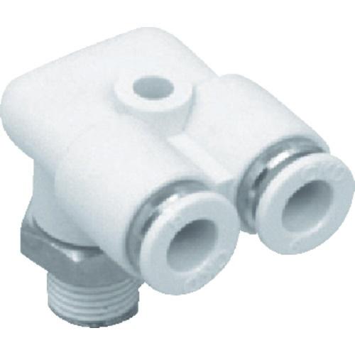CKD ニュージョイントステンレスタイプ FY形R付 適合チューブ外径:12mm 接続口径R1/2 ZW-FY12-15-P4 441-1064