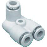 CKD ニュージョイントステンレスタイプ FY形R付 適合チューブ外径:4mm 接続口径R1/8 ZW-FY4-6-P4 441-1099