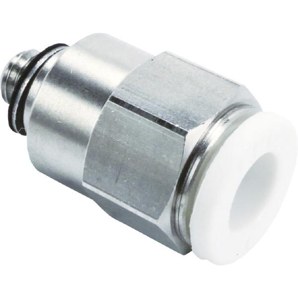 CKD シーケーディー CKD ニュージョイントステンレスタイプ 片口ストレート ZW-S6-M5-P4 1個 441-1846