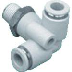 CKD シーケーディー CKD ニュージョイントステンレスタイプ テトラ形R付 ZW-TR8-10-P4 1個 441-2524