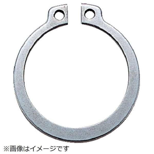 スナップリング軸用 ステンレス サイズS-13 14個入 B900013