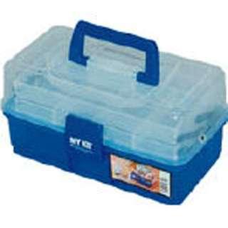 小物ケース マイキット 270×160×150 クリア/ブルー 27B