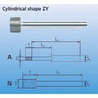 CBNインターナルバー 3mm軸 120 BZYA1.0258224