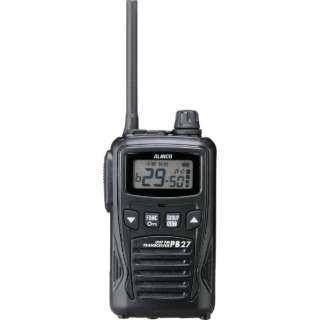 交互20ch+中継27ch対応 特定小電力トランシーバー(1台) DJ-PB27