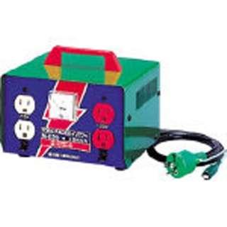 変圧器 昇圧器ハイパワー 2KVA アース付タイプ ME20