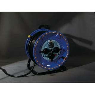 防雨型電工ドラム LEDラインドラム オレンジ NPWLEB33O