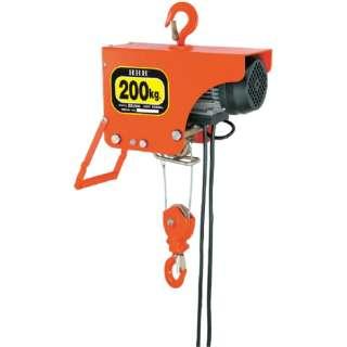 電気ホイスト 200kg 揚程6m ZS200
