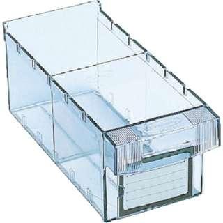 樹脂製引出し 内寸111×264×108 透明 MM1