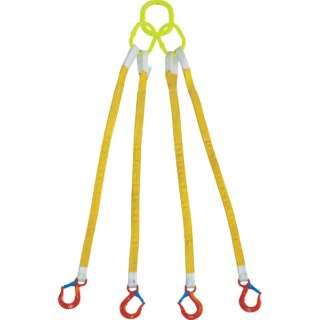 4本吊 インカリフティングスリング 3.2t用×1.5m 4ILS 3.2T×1.5