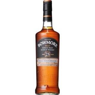 ボウモア 25年 700ml【ウイスキー】