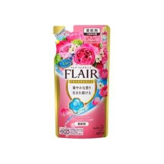FLAIR FRAGRANCE(フレア フレグランス) フレアフレグランス フローラル&スウィート つめかえ用 480ml 〔柔軟剤〕