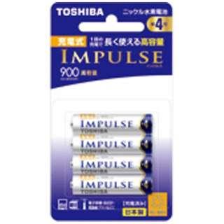 TNH-4AH 単4形 充電池 IMPULSE(インパルス)高容量タイプ [4本]