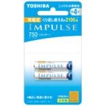 TNH-4ME 単4形 充電池 IMPULSE(インパルス)スタンダードタイプ [2本]