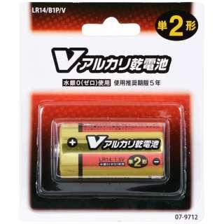 LR14/B1P/V 単2電池 Vシリーズ [1本 /アルカリ]