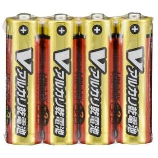 LR6/S4P/V 単3電池 Vシリーズ [4本 /アルカリ]