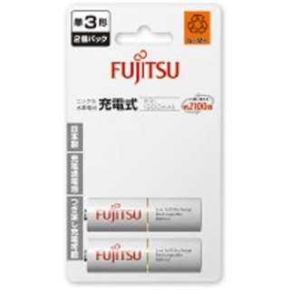 HR-3UTC 2B 単3形 充電池 [2本]