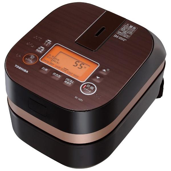 東芝 小容量IHかまど炊飯器 RC-4ZPJ(T) 炊飯器