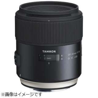カメラレンズ SP 45mm F/1.8 Di VC USD ブラック F013 [キヤノンEF /単焦点レンズ]