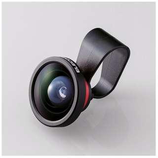セルカレンズ 0.4倍広角レンズ スーパーワイド(レッド) PSL04RD