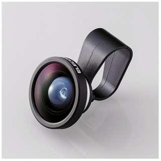 セルカレンズ 0.4倍広角レンズ スーパーワイド(シルバー) PSL04SV