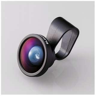 セルカレンズ 0.4倍広角レンズ スーパーワイド(ブラック)  PSL04BK